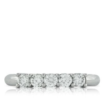 Diamond Band, 1/2 ctw. in Platinum
