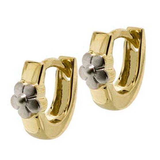 Baby Hoop Earrings 14K