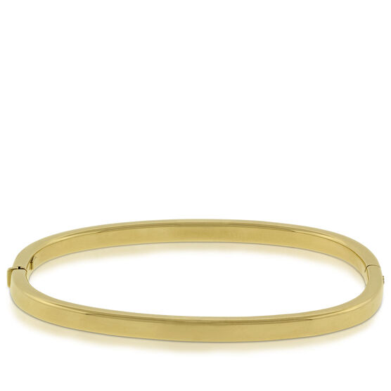 Toscano Collection Cushion Shaped Bangle 14K