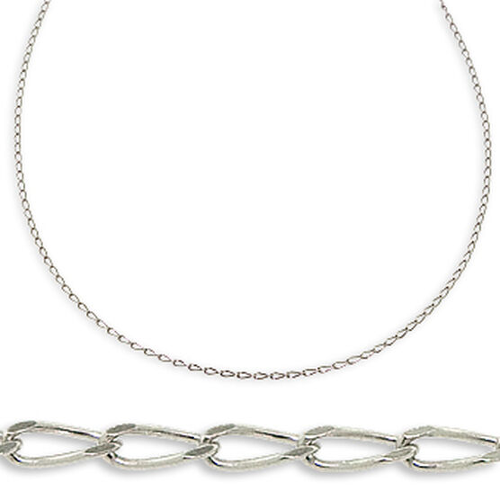 Oval Link Chain 14K, 18K