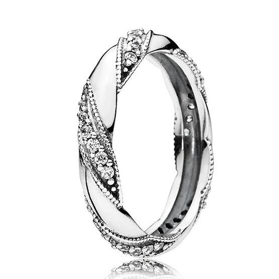 PANDORA Ribbons of Love Ring