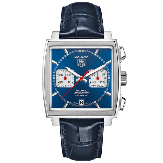 TAG Heuer Monaco Calibre 12 Automatic Chronograph, 39mm