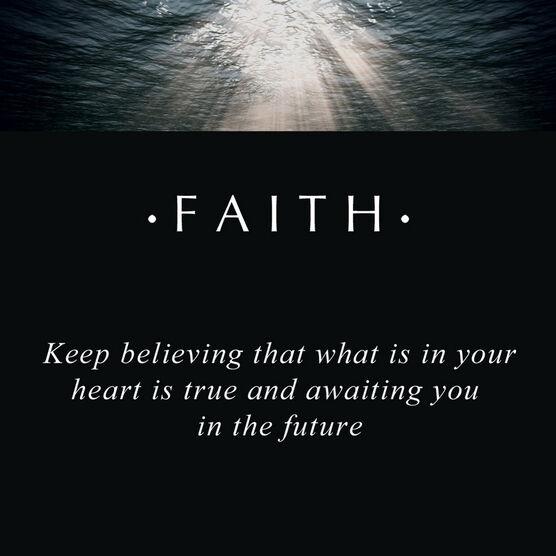 PANDORA ESSENCE Faith Charm
