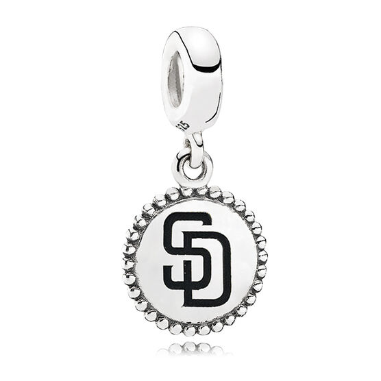 PANDORA Padres MLB Dangle Charm