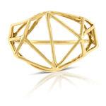 Geometric Ring 14K