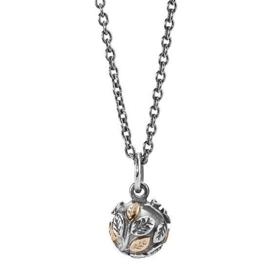 PANDORA Tree of Life Necklace, Silver & 14K RETIRED