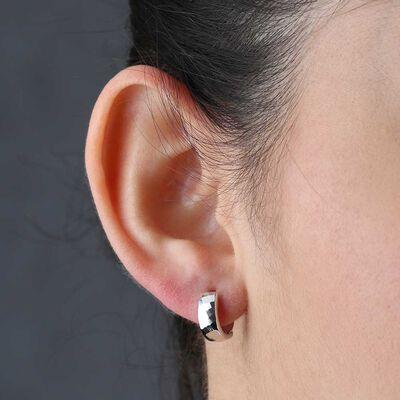 Tiny Hoop Earrings 14K