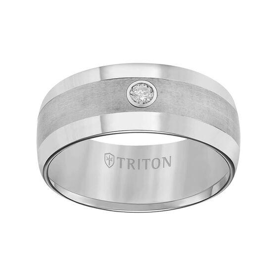 TRITON Men's Band in Tungsten