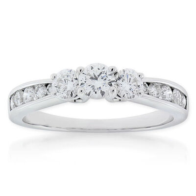 Ikuma Canadian Diamond Ring 14K