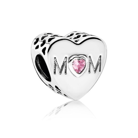 PANDORA 'Mother's Heart'  CZ Charm