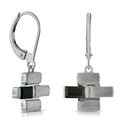 Lisa Bridge Black Onyx Dangle Earrings