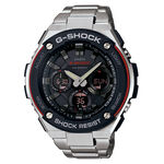 G-Shock G-Steel Watch in Black & Red