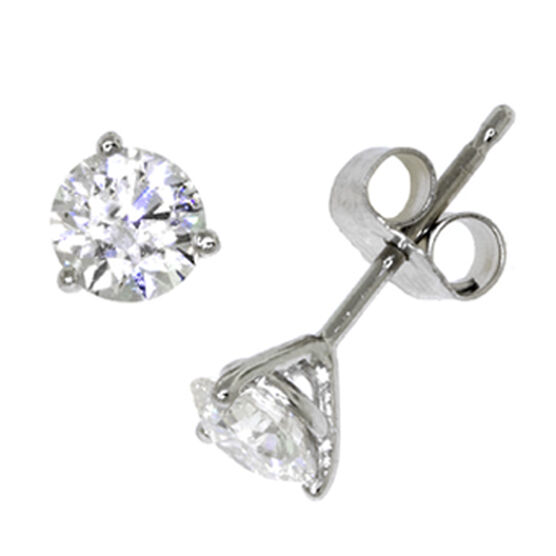 Ikuma Canadian Ideal Cut Diamond Earrings 14K, 5/8 ctw.