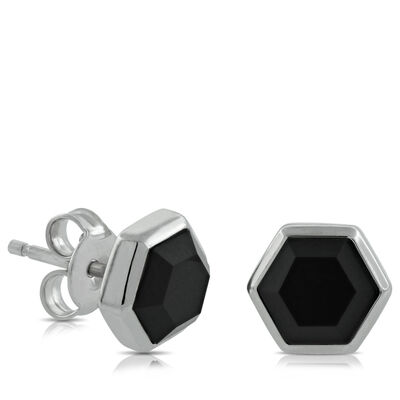 Lisa Bridge Onyx Stud Earrings