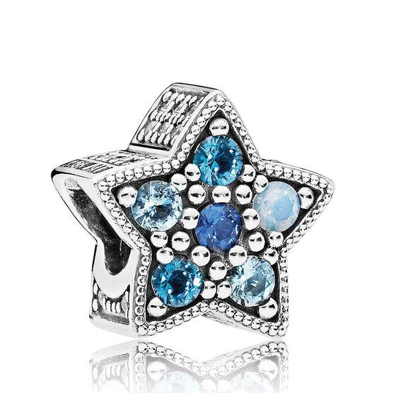 PANDORA Bridge Star Crystal Charm