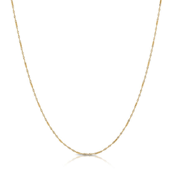 Diamond Cut Chain 14K, 18""