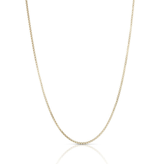 Toscano Collection Half Round Box Chain 14K, 24""