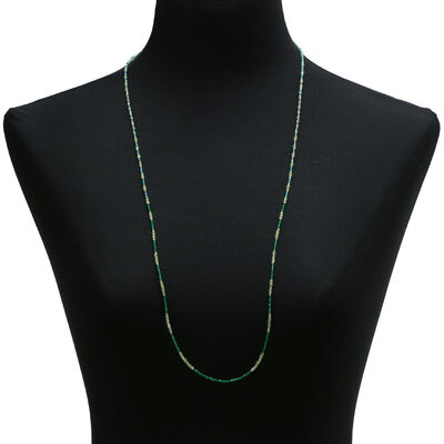 Lisa Bridge Peridot & Quartz Necklace