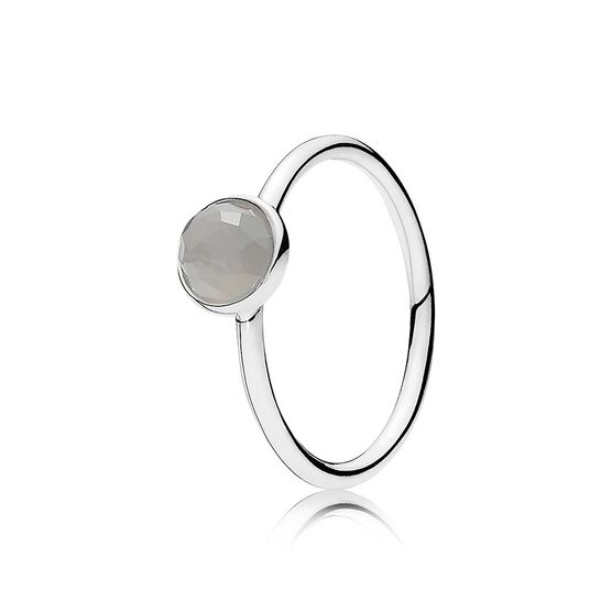 Pandora June Droplet Ring