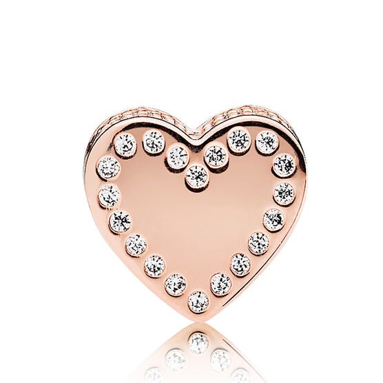 PANDORA Rose™ ESSENCE CZ Dedication Charm