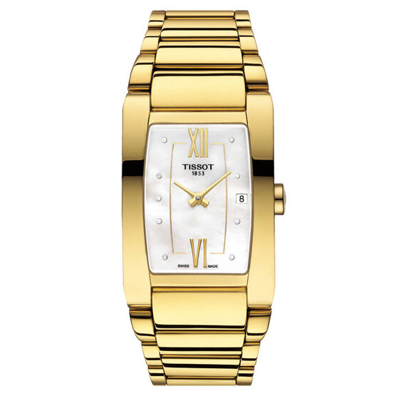 Tissot Generosi-T Yellow PVD Watch