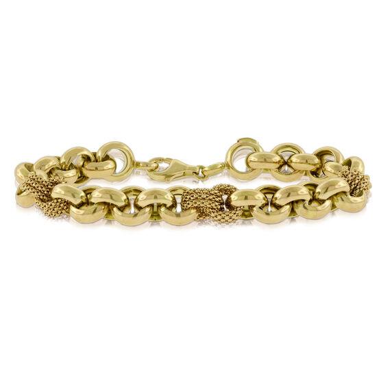 Toscano Rolo Bracelet 14K
