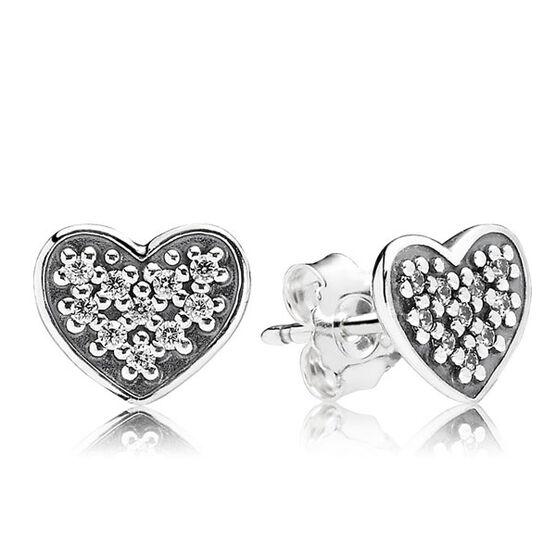 PANDORA Heart Earrings RETIRED