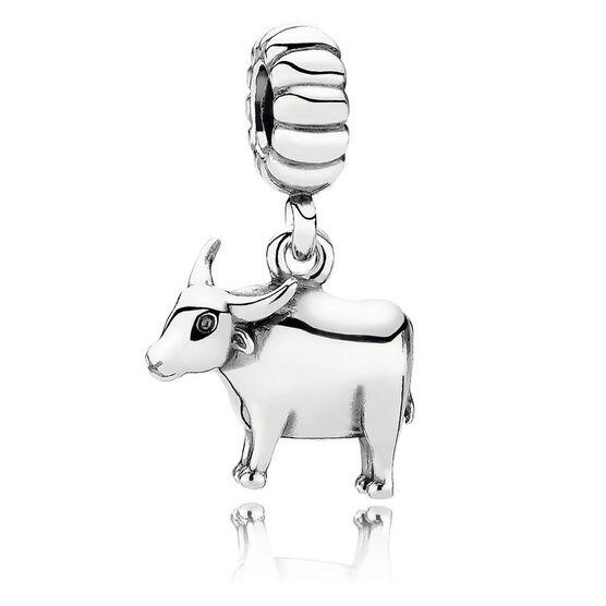 PANDORA Strong Ox Dangle Charm