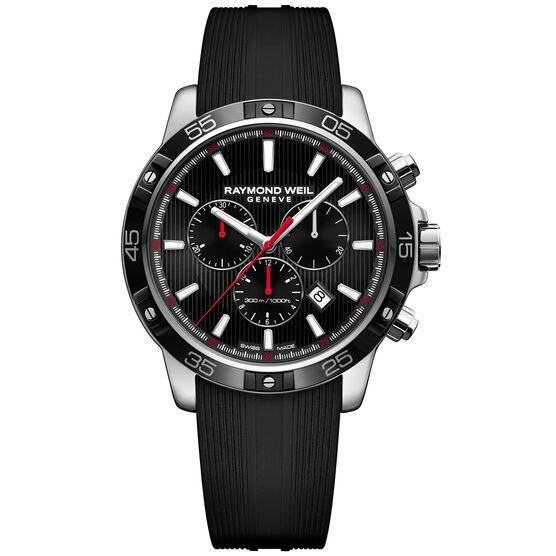 Raymond Weil Tango 300 Rubber Strap Chrono Watch