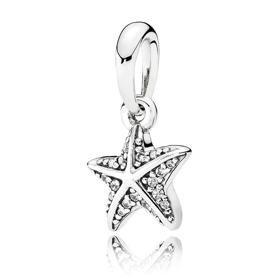 PANDORA Tropical Starfish CZ Pendant