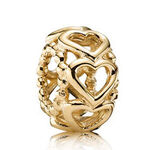 PANDORA Lucky in Love Charm 14K