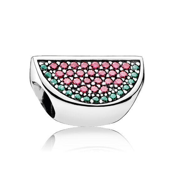 PANDORA Pavé Watermelon CZ Charm