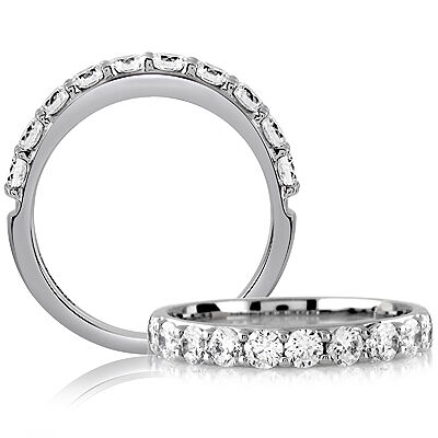 A.JAFFE Diamond Wedding Ring 18K