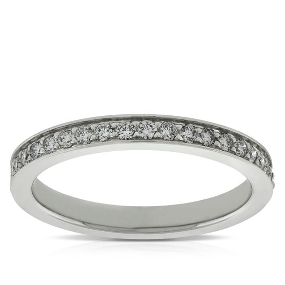 Diamond Band, 1/3 ctw in Platinum
