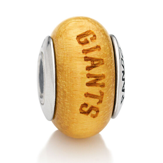 PANDORA Giants MLB Wood Charm