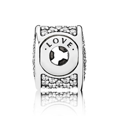 PANDORA ESSENCE Love CZ Charm