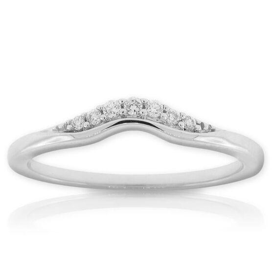 Diamond Wedding Band 14K