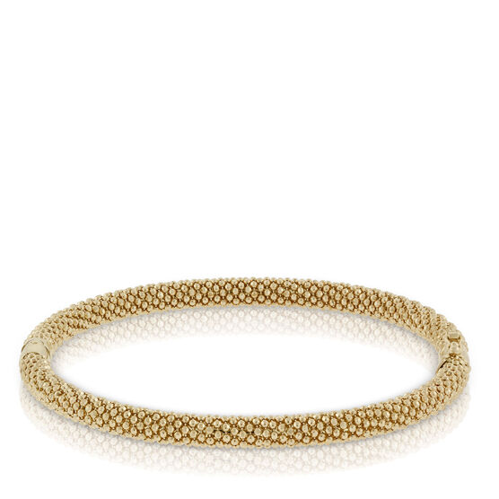 Toscano Collection Beaded Bangle 18K