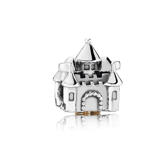 PANDORA Happily Ever After Charm, Silver & 14K