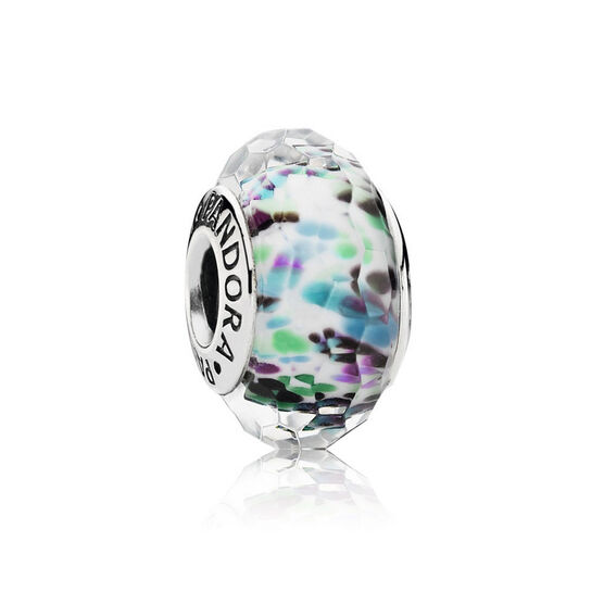 PANDORA Sea Glass Green Charm