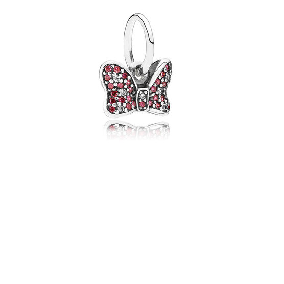PANDORA Disney Minnie's Sparkling Bow Charm