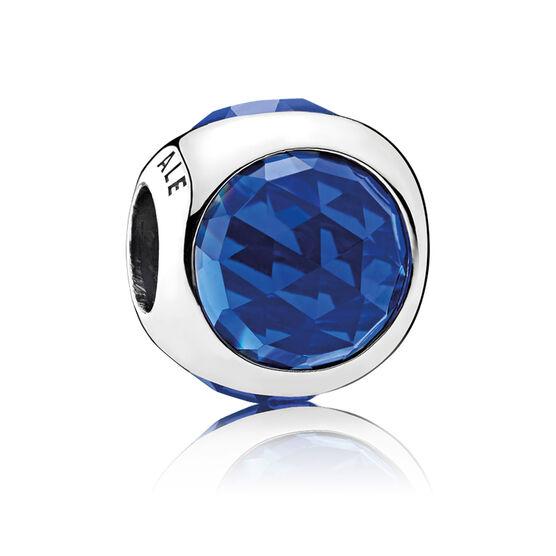 PANDORA Radiant Droplet, Royal Blue Crystals Charm
