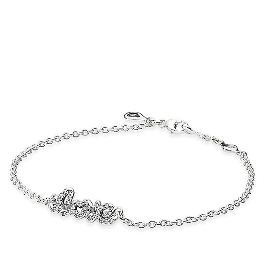 PANDORA SIGNATURE OF LOVE BRACELET