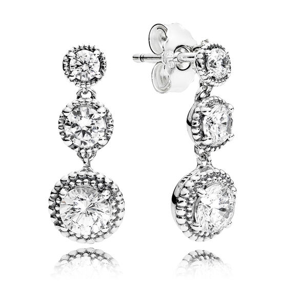 PANDORA Eternal Elegance CZ Earrings