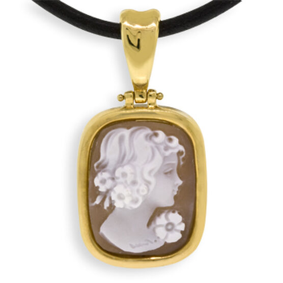 Toscano Collection Cameo Pendant 18K