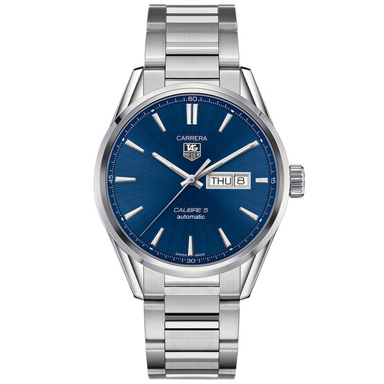 TAG Heuer Carrera Calibre 5 Watch, 41mm