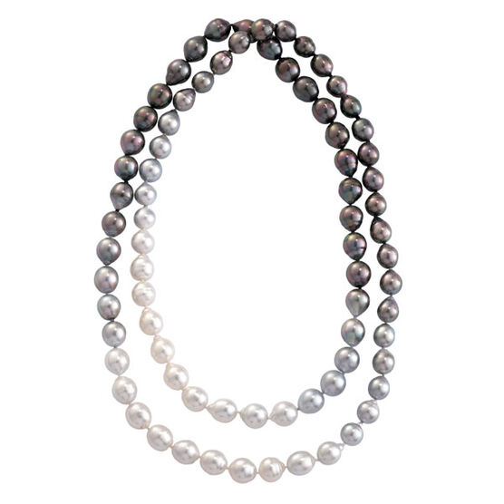 Ombre South Sea Cultured Pearl Strand, 36""