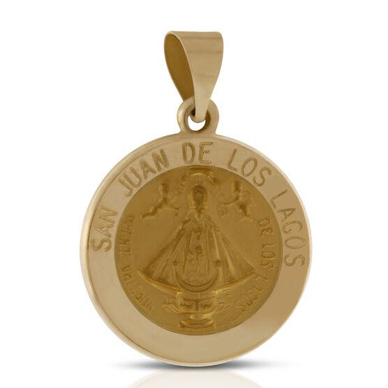 San Juan de Los Lagos Medal 14K