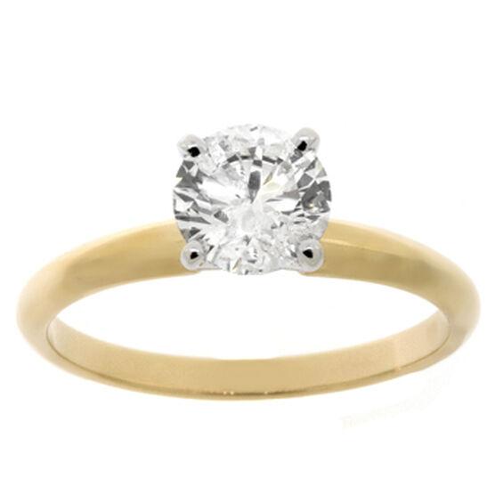 Ikuma Canadian Diamond Ring 14K, 1 ct.
