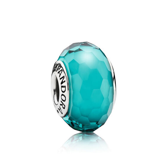 PANDORA Teal Fascinating Charm